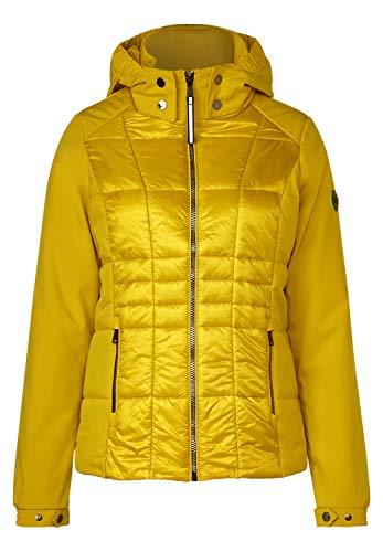 CECIL Damen 201366 Jacke, Gelb (golden glow 11743), Large (Herstellergröße:L)