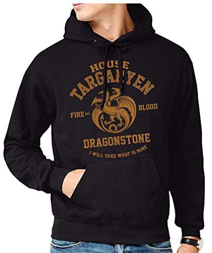 The Fan Tee Sudadera de Hombre Juego de Tronos Tyrion Snow Dragon Daenerys Stark 061 S