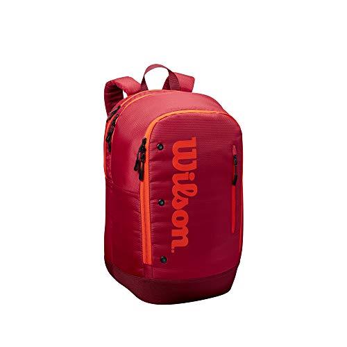 Wilson Tour Backpack Bolsas para Material de Tenis, Unisex-Adult, Maroon, Talla Única