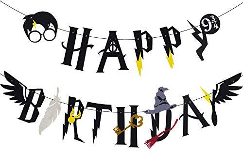 JeVenis Magier Geburtstag Deko Zauberer Geburtstag Dekoration für Jungen Geburtstag Dekorationen