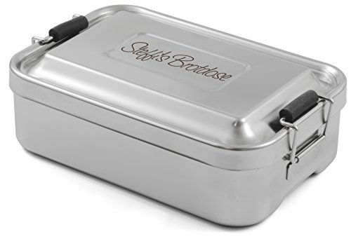 RIESS KELOMAT Lunchbox Edelstahl mit persönlicher Wunschgravur