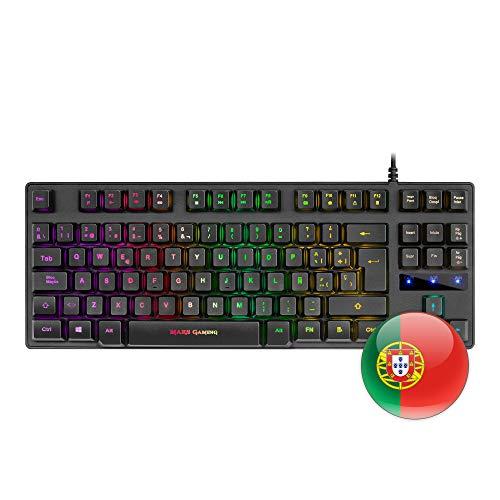 Mars Gaming MKTKL, teclado H-mecánico RGB 8 efectos