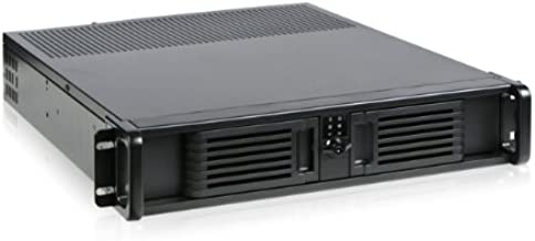 iStar D Storm D-200-PFS Front Mount ATX Power Supply 2U Rackmount Server Chassis (Black)