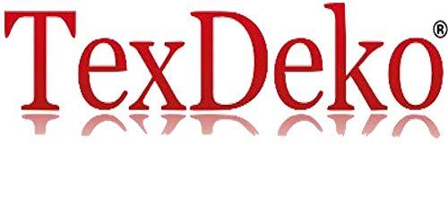 TexDeko Gartenbank - Auflage Bankpolster, Bankkissen, Bankauflage, Wasserabweisend (100cm x 42cm x 6cm, Grau) - 4