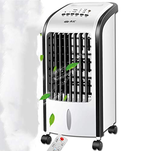 Smwk Haushaltskühlgebläse Kühlgebläse Fernbedienung Klimaanlage Abnehmbarer Klimaanlagenlüfter Standklimaanlage Wassertank Kapazität 5L