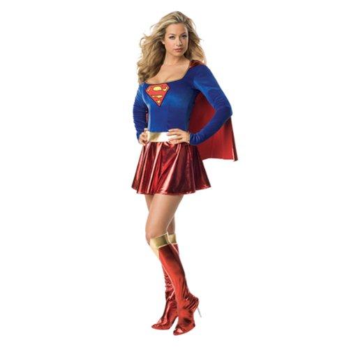 NUEVO Disfraz Para Mujer Super Girl, talla XS