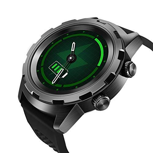 MTSBW Reloj Inteligente 24 Horas Monitor de Ritmo cardíaco Continuo Rastreador de Fitness Bluetooth Smartwatch Moda Deportes Hombres Mujeres