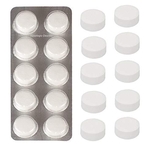 Aqualogis Tabletas de limpieza compatibles con Krups XS3000, Jura, Bosch 00311970, TZ8001N, Saeco CA6704, cafetera