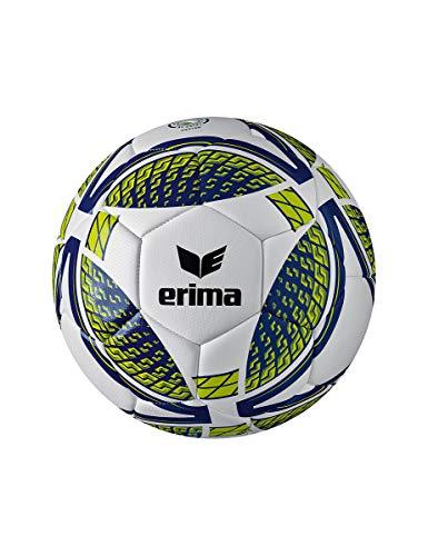 Erima Unisex Erwachsene Senzor Training Fußball, New Navy/Lime, 5