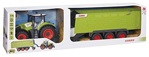 RC Auto kaufen Traktor Bild 4: Happy People 34425 , Claas Traktor Axion 870 RC Anhänger Cargos 9600*