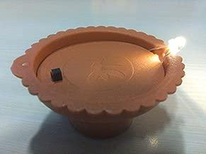 Made in India - KoolDeep - 6 LED Lamps/Diya - Traditional Indian Diwali Diya