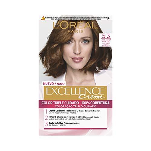 L'Oréal Paris Excellence Creme 5.3 Chocolate Praline - 1 Co