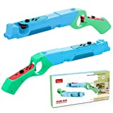 2 Paquetes Pistola de Disparos Compatible con Nintendo Switch Joy-Con, Disparos para Juegos de Caza Pistola de Tiro, Switch Shooting Game Gun Joy-Con Gun Controller Hand Grips