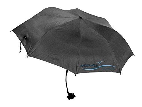 Schirm Merrweh mit Klipp Sonnenschirm anthrazit