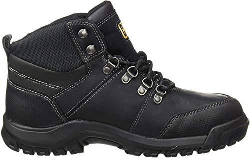 CAT Sicherheitsstiefel FRAMEWORK S3, Arbeitssicherheitsstiefel mit Stahlkappe Herren, schwarz, Gr. 43