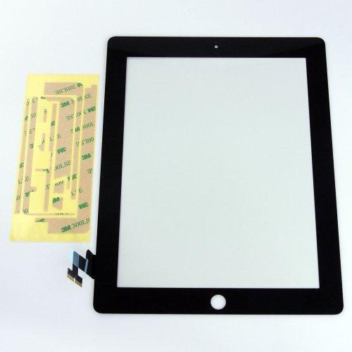 iPad2 タッチパネル(フロントガラスデジタイザ) ブラック
