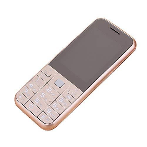 Dswe A5-D1 2.6 Pulgadas de Caracteres Grandes, Respaldo Multimedia, Barra de Caramelo, Red Unicom, teléfono móvil para Personas Mayores, Tipo de botón, teléfono móvil