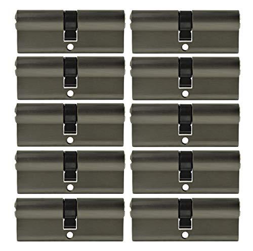 15x Schließzylinder 80 mm 40/40 mit je 5 Schlüssel + 6 Zentralschlüssel Generalschlüssel