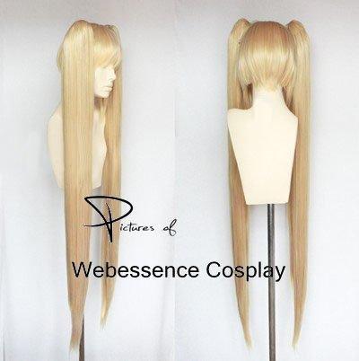 『AW2011 魔法少女リリカルなのは フェイト・テスタロッサ 風 コスプレウィッグ+ウイッグネット』の1枚目の画像