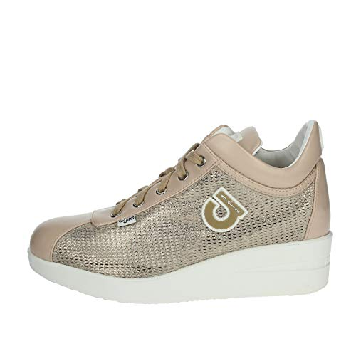 AGILE BY RUCOLINE Sneaker Alta BeigePelle40 - Primavera Estate