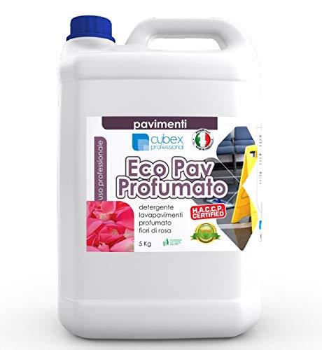 cubex professional Detergente detersivo per Pavimenti profumato Eco PAV PROFUMATO 5KG