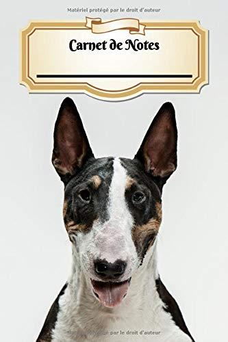 Carnet De Notes: Bull Terrier | Chien ou Chiot | A5 139 Pages Avec Papier Quadrillé 5 x 5 mm | Cahier d'écolier | Graph Paper Journal | Notebook | Espace pour votre nom, classe, cours