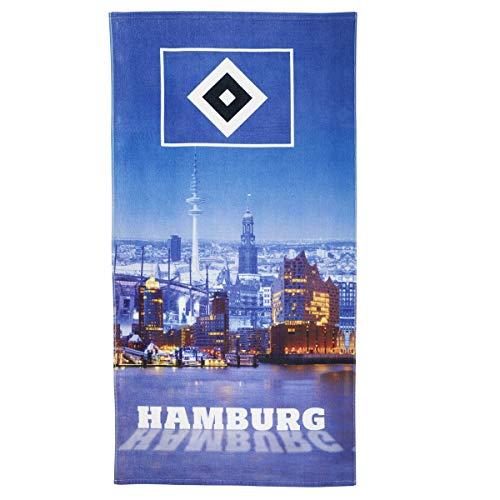 Hamburger SV HSV Strandtuch Hamburger Hafen 76x152cm