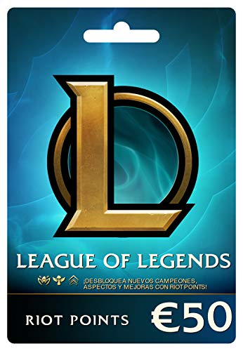 League of Legends €50 Tarjeta de regalo prepaga (7200 Riot Points)