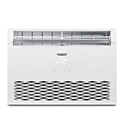 TOSOT 8,000 BTU Window Air Conditioner - Energy Star, Modern Design, and Temperature-Sensing Remote - Window AC for Bedroom, Living Room, and attics up to 350 sq. ft.