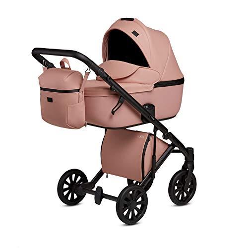 Kombi Kinderwagen Buggy Sportwagen Travel System Anex E/Type (Peach CrN-12, 2in1)