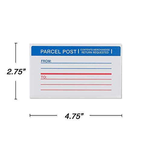 Emraw Super Great Mailing Labels Permanent Adhesive Paper Label for Envelopes - Great for School, Home & Office – 25 Labels Per Pack - (2-Pack) Photo #2
