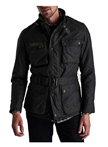 Barbour - Chaqueta de moto encerada - Modelo International Blackwell Wax
