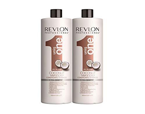 Revlon Uniq One Coconut Champu 1000ml x 2 Unidades Total 2000ml