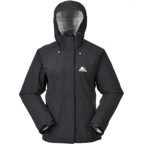 Cox Swain Damen 2,5-Lagen Outdoor Funktions Trekking Jacke Mia Top Preis Leistung, Colour: Black, Size: XS