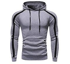 desolateness Mens Long Sleeve Drawstring Pullover Hoodies Sweatshirts Shirts