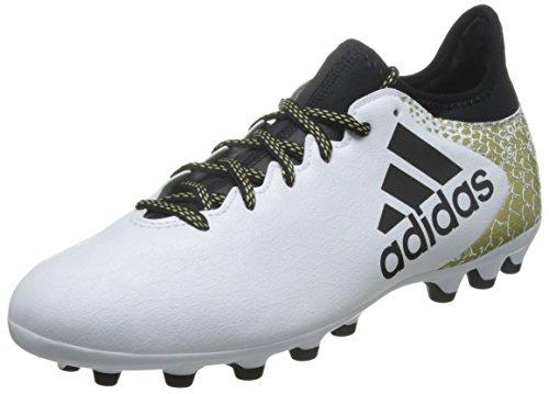 adidas X 16.3 AG, Botas de fútbol para Hombre, Blanco (Ftwbla/Negbas/Dormet), 42 EU