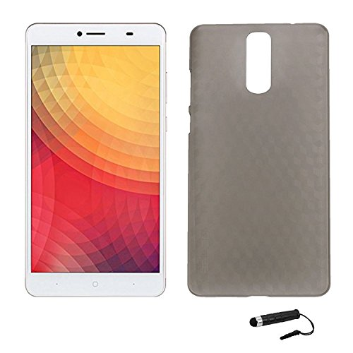 Tasche für Doogee Y6 MAX Hülle, Ycloud Handy Backcover Kunststoff-Hard Shell Case Handyhülle mit stoßfeste Schutzhülle Smartphone Grau