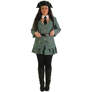 LLOPIS - Disfraz Adulto Guardia Civil Mujer: Amazon.es: Juguetes y ...