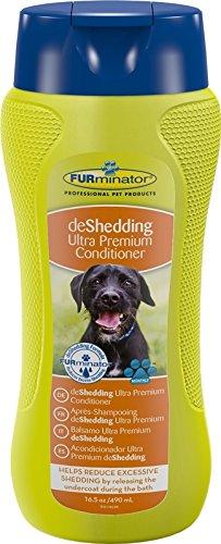 FURminator Fellpflege deShedding Anti-Haaren Ultra Premium-Conditioner für Hunde und Katzen, Tierhaarereduziert das Haaren, 1 Flasche (1 x 490 ml)