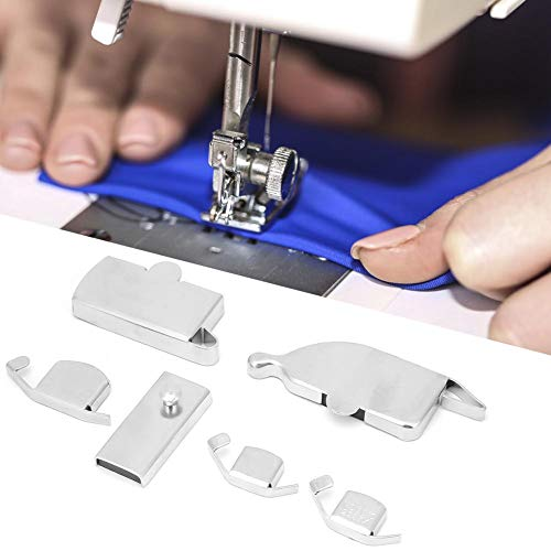 Cosiki Máquina de Coser de guía de Costura magnética, 6 Piezas Guía de Costura de imán de Fuerza magnética Fuerte para Accesorio de máquina de Coser
