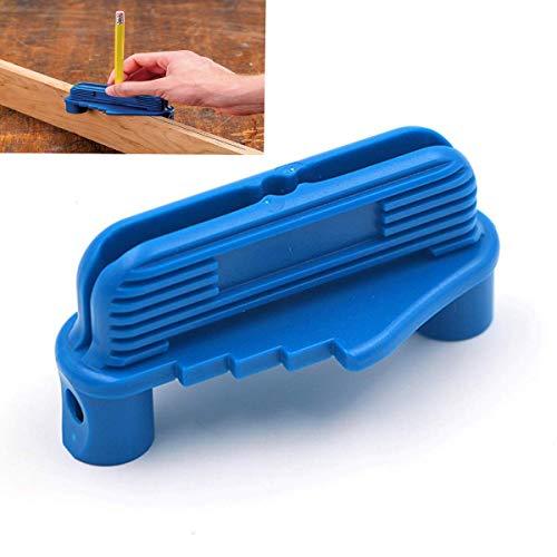 Offset Center Marking Tool Rockler Center Offset Scriber Pencils Marking Tool Fits Standard Wooden (Blue)