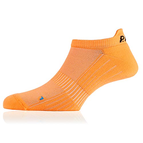 P.A.C. Footie Active Short Man Socken - Neon Orange