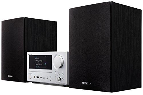 Onkyo CS-N575D-SB - Sistema de CD de Alta fidelidad, Color Plata