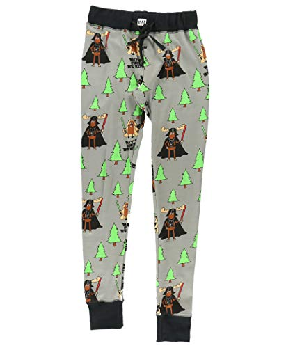 LazyOne Damen May The Forest Be With You Pyjama Leggings Medium