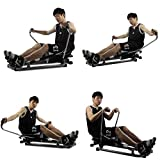 Rudergeräte Concept 2 Modell d multifunktionales Heim-Fitnessgerät for leises Training in der Taille (Color : Black, Size : 114 * 84 * 65cm) - 4
