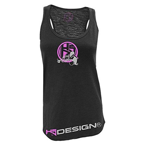 HOTSPOT DESIGN - Angel-Hemden & T-Shirts für Damen in schwarz / rosa, Größe XS