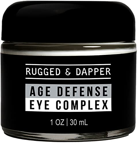 RUGGED & DAPPER Age Defense Eye Complex | Effective Anti-Aging Treatment for Under Eyes | with Natural and Organic Ingredients