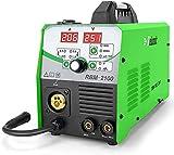 Reboot Soldador MIG 210A 230V IGBT 230V 1 kg/5kg Gas y sin gas MIG/ARC/Lift TIG 4 en 1 Núcleo de flujo/alambre sólido Máquina de soldadura de inversor MIG MMA MIG MAG