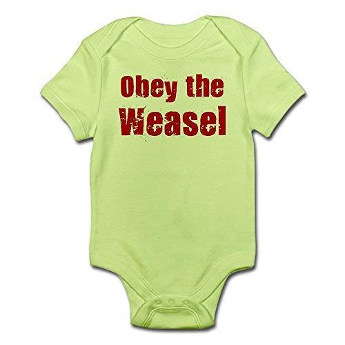 Obey The Weasel - Body para bebé