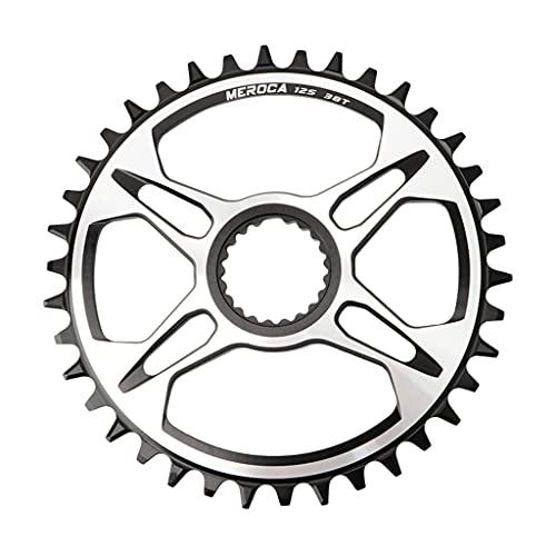 MYBOON, Plato de Montaje Directo de 12 velocidades, 32 T / 34 T / 36 T / 38 T para Shi Mano M6100 / M7100 / M8100 / M9100, Juego de bielas, Piezas de Anillo de de Bicicleta, Anillo de Cadena 38T